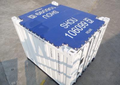 8×10 Tarp Top Container