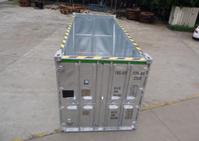 8×20 Open Top Container