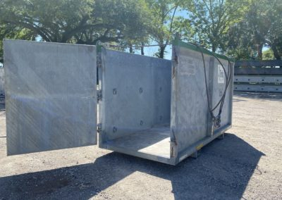 5×12 Open Top Container
